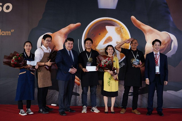 First Vietpresso coffee competition