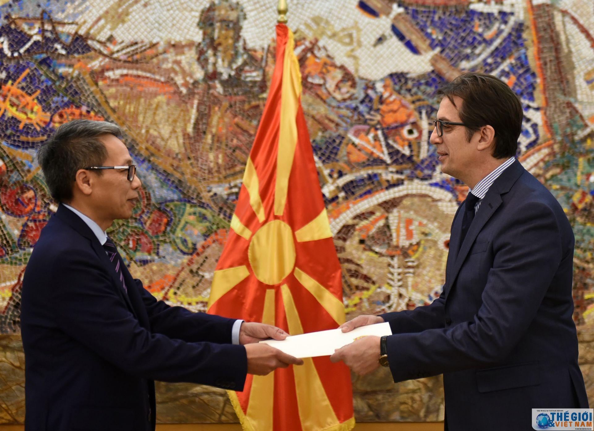 Vietnamese Ambassador presents credentials in Republic of Northern Macedonia