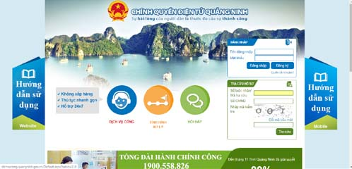 Quang Ninh province to connect with national public service portal