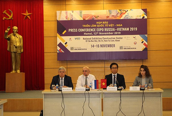 Expo Vietnam-Russia 2019 attracts 500 enterprises