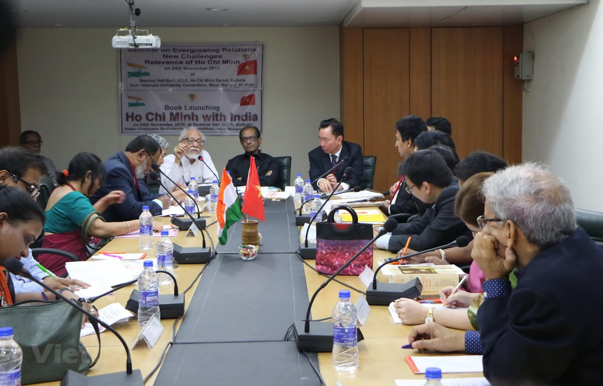 Seminar on Vietnam-India relations and Ho Chi Minh's imprint held in India