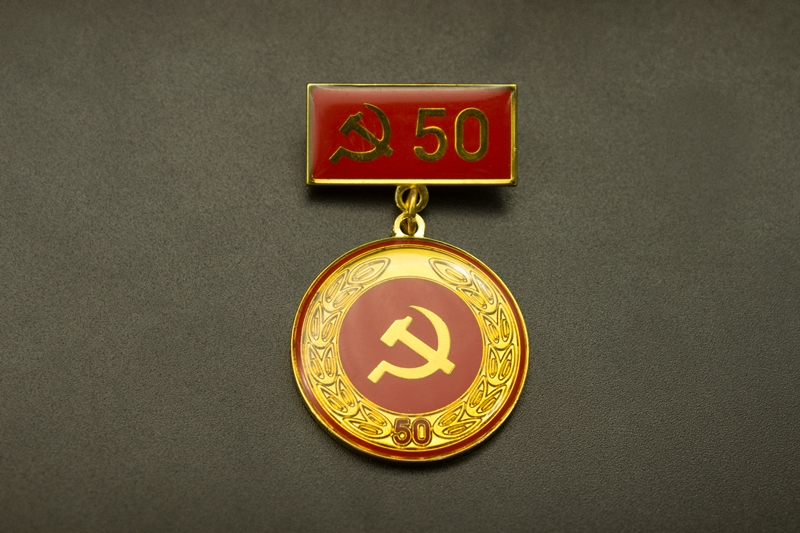 Party Badges presented to nine Party members in Ho Chi Minh city's district