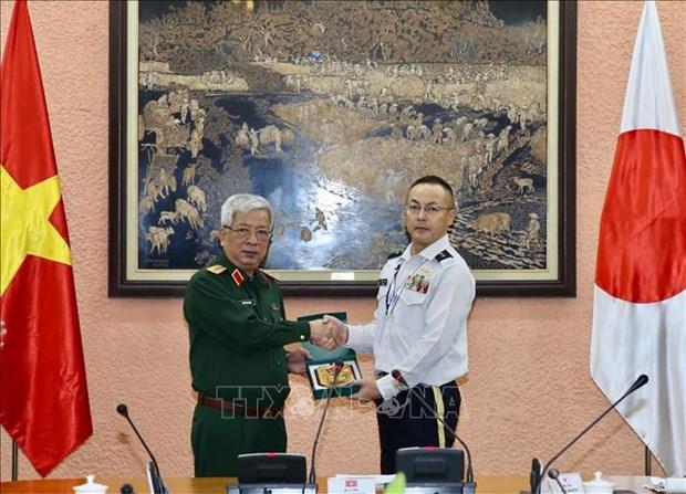 Vietnam, Japan step up defence ties