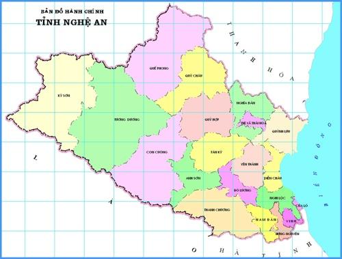 Nghe An province abridges 20 administrative units after merger