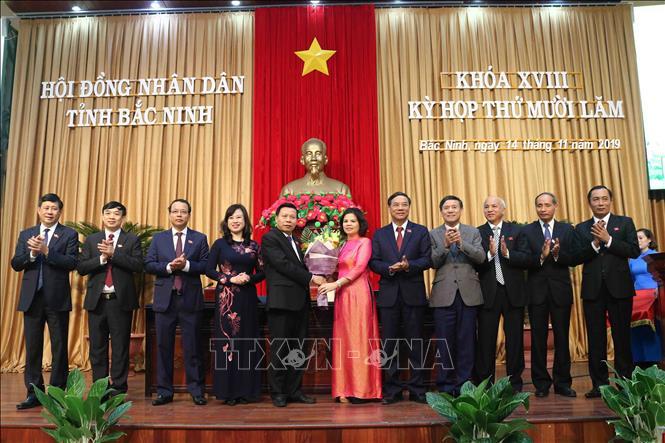 Bac Ninh province has new Chairwoman