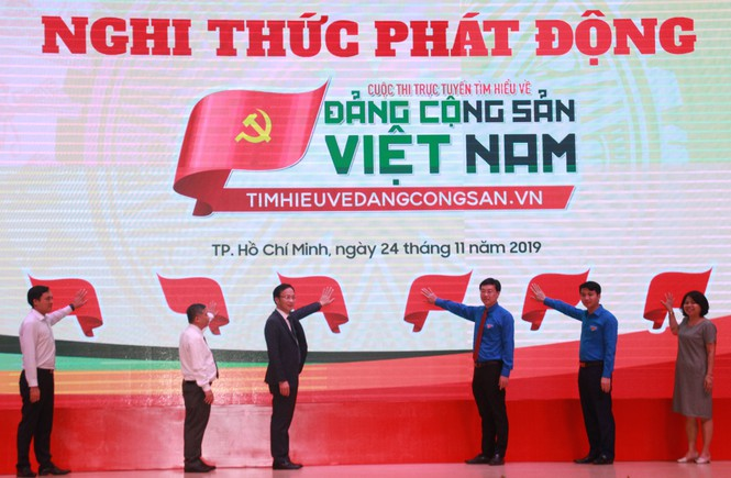 Contest about Communist Party of Vietnam launched in Ho Chi Minh City