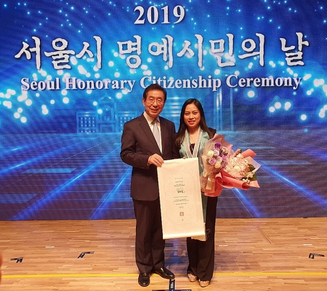 First Vietnamese citizen recognized as Seoul Honorary Citizen 2019