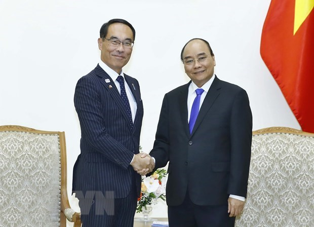 PM receives Japanese local official