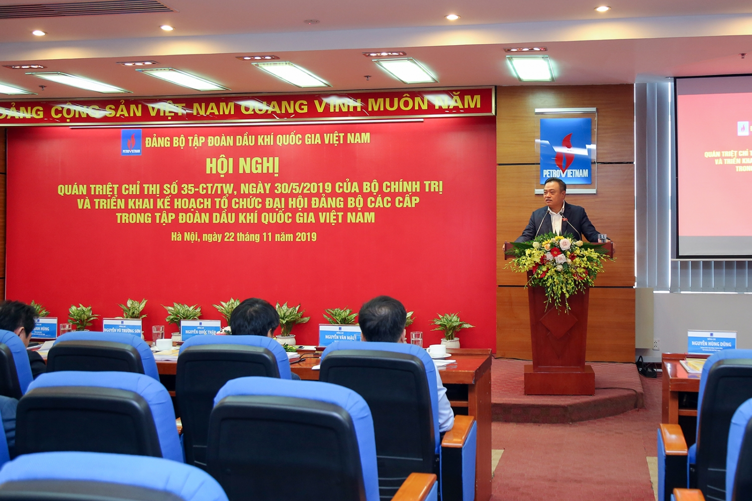 PetroVietnam realizes plans to organize Party Congresses at all levels