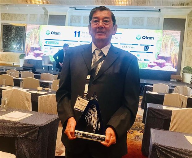 Soc Trang's rice variety recognised as best in world