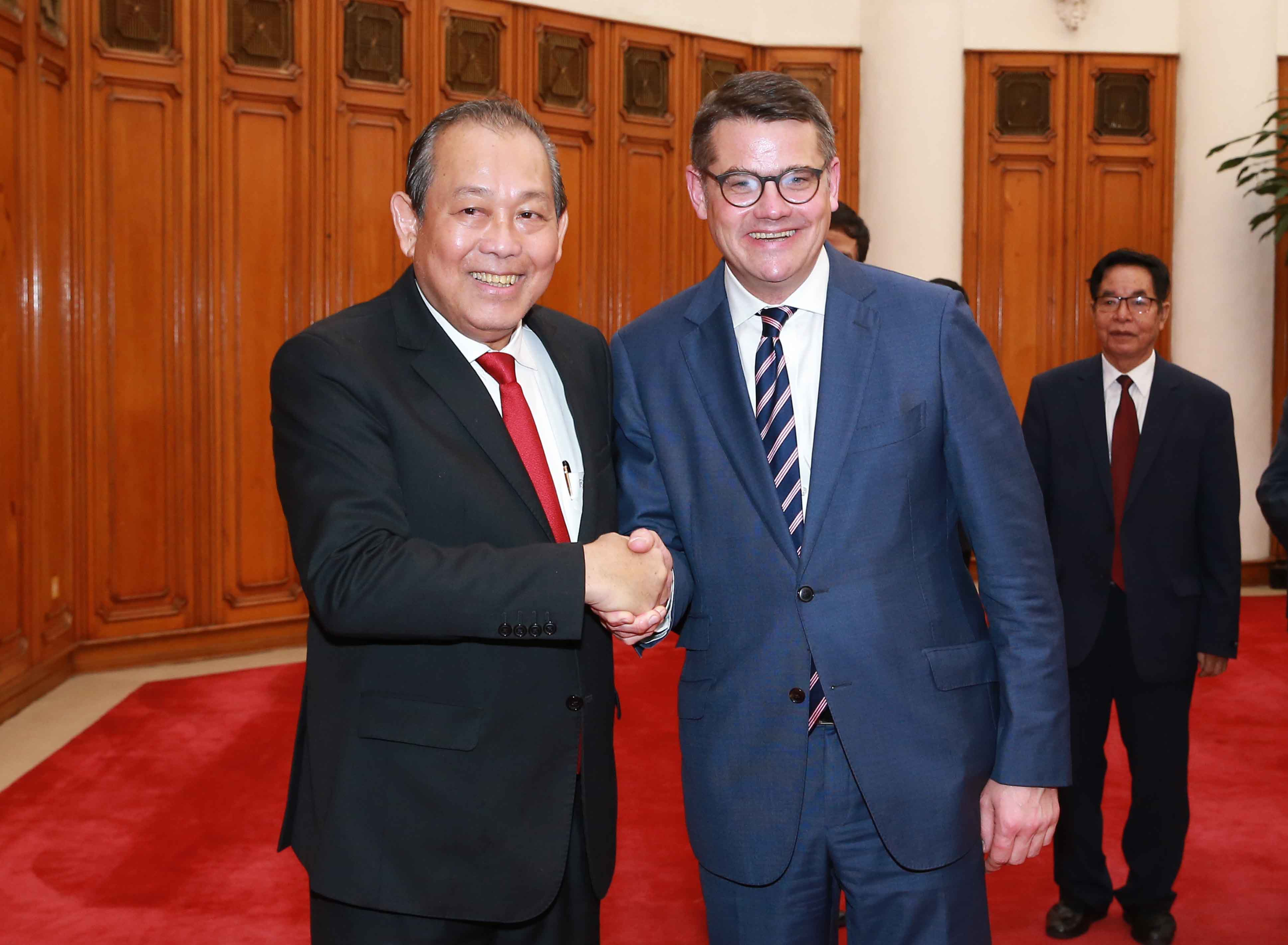 Promoting economic, trade cooperation between Vietnam and Germany