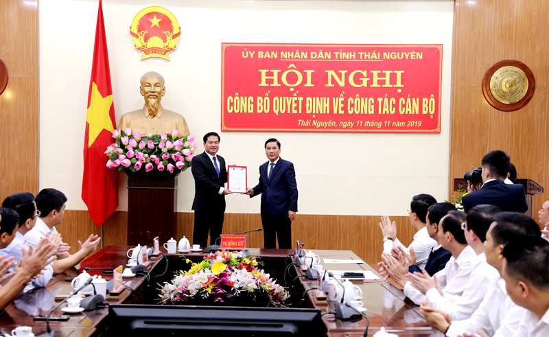 Mr. Le Quang Tien appointed Deputy Head of Thai Nguyen