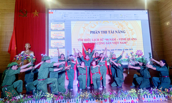 Various activities held to welcome 90th anniversary of CPV