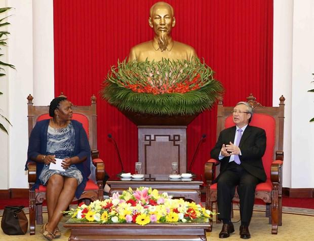 Party official affirms Mozambique's importance to Vietnam