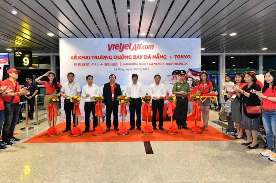 Vietjet launches first direct service from Da Nang to Haneda