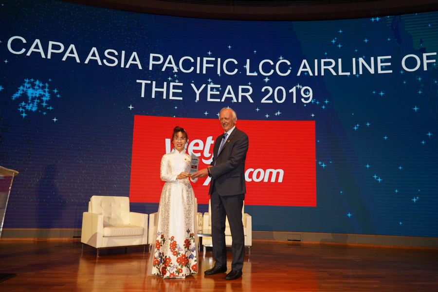 "Vietjet recognized as ""Asia Pacific Low Cost Airline of the Year 2019"""