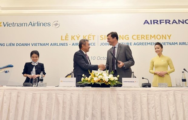 Vietnam Airlines - Air France joint venture carry over 600,000 passengers