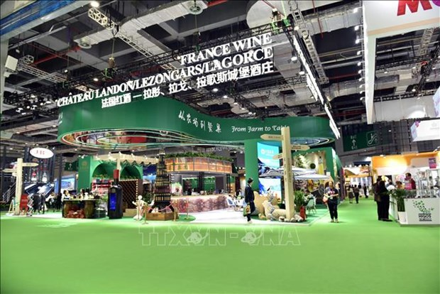 Vietnamese firms attend second China International Import Expo