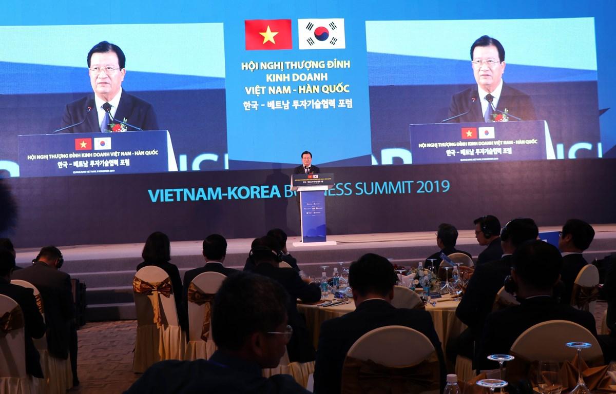 Vietnam – RoK business summit opens in Quang Nam