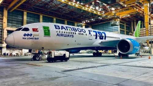 Bamboo Airways takes delivery of first Boeing 787-9 Dreamliner