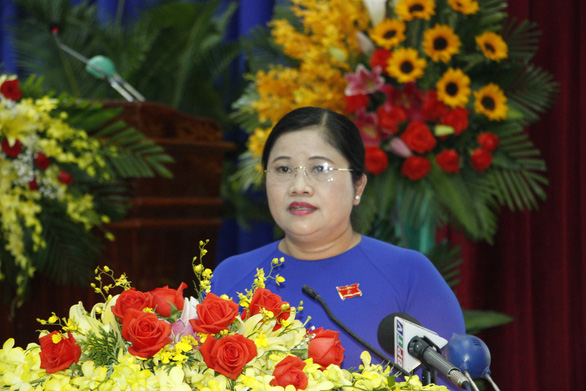 Ms. Tran Tue Hien appointed as Chairwoman of Binh Phuoc province