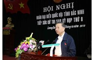 Minister of Public Security meets voters in Bac Ninh