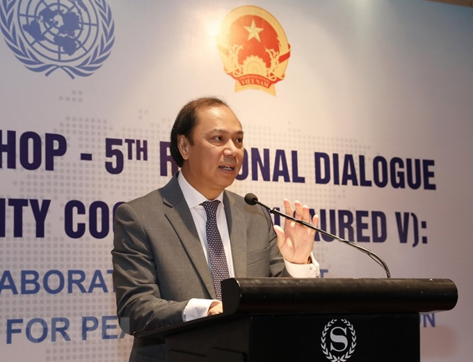 7th ASEAN-UN workshop- 5th regional dialogue on political-security cooperation