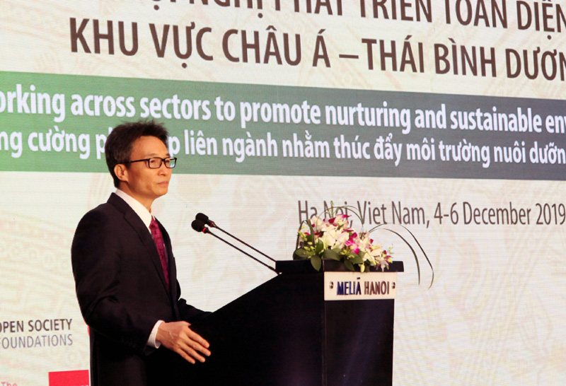 Hanoi conference bolsters sustainable environments, nurturing care for young children
