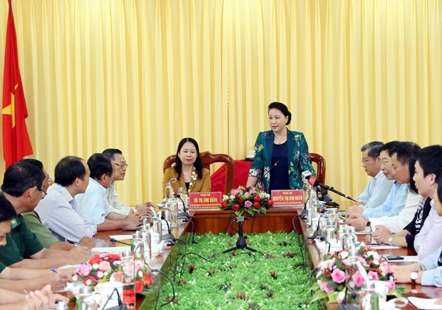 NA leader hails An Giang border guard force's performance