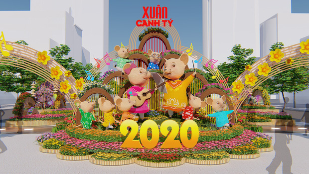 2020 Nguyen Hue Flower Street to open on January 22nd