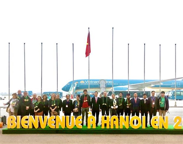 Hanoi welcomes first foreign tourist in 2020