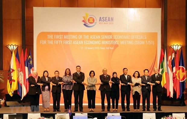 Prioritised orientations in ASEAN economic pillar in 2020 unveiled