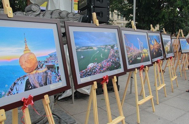 Photo exhibition about ASEAN countries and people
