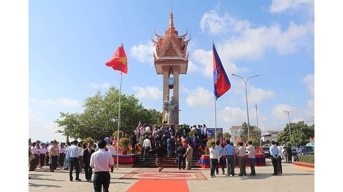 Vietnam-Cambodia Friendship Monument in Kampong Cham province inaugurated
