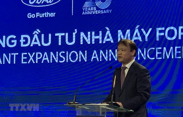 Ford Vietnam adds USD82 million in factory expansion project
