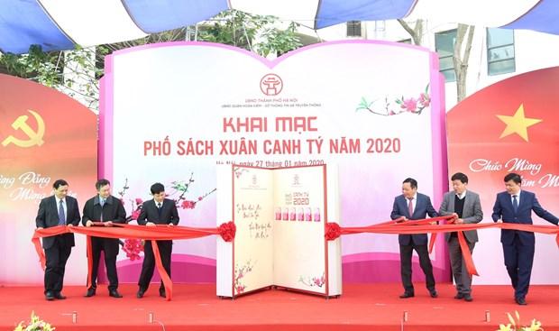 Hanoi opens 2020 Spring Book Street