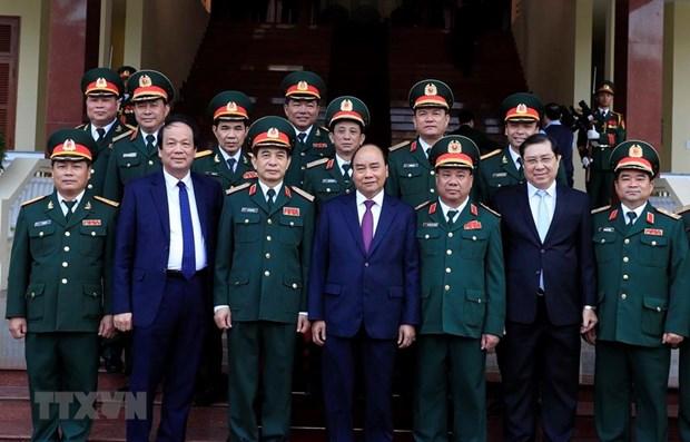 PM applauds Military Region 5's performance