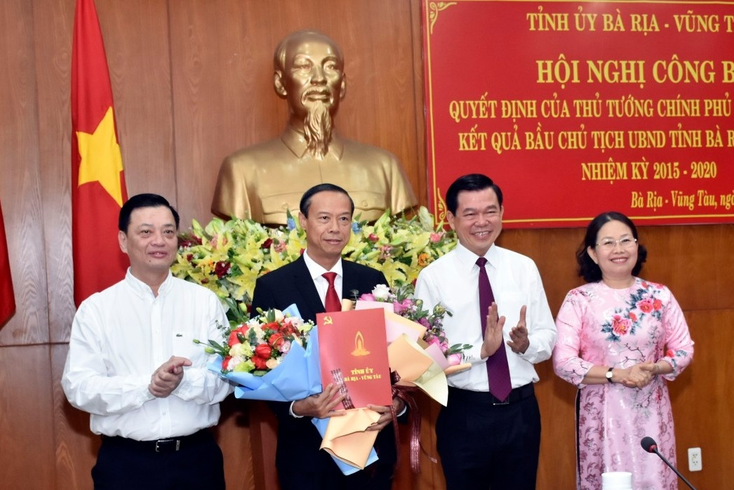 Mr. Nguyen Van Tho approved as Chairman of Ba Ria - Vung Tau province