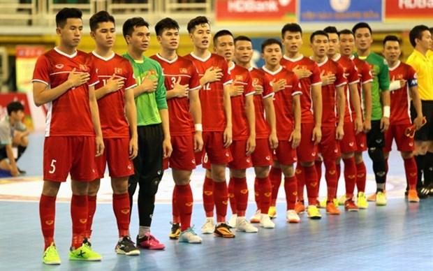 Vietnam ready for 2020 AFC Futsal Championship finals