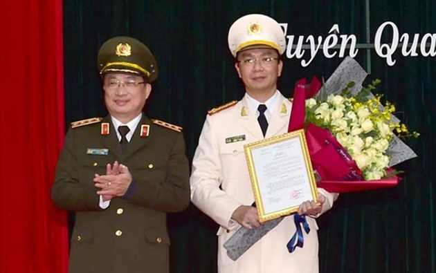 Tuyen Quang provincial Police has new director