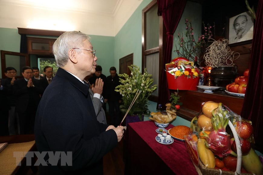 Party chief commemorates President Ho Chi Minh