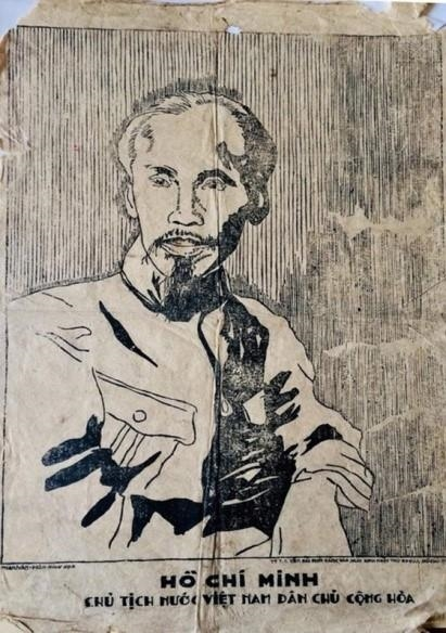 French veteran preserves President Ho Chi Minh's portrait