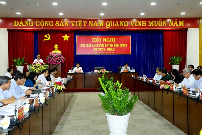 Binh Duong contributes idea to documents of provincial Party Congress