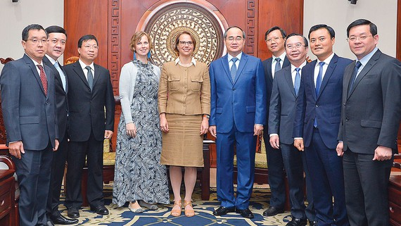 German businesses want to expand production in Ho Chi Minh city