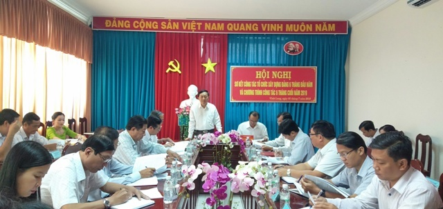 Southern province prepares personnel for Party congresses