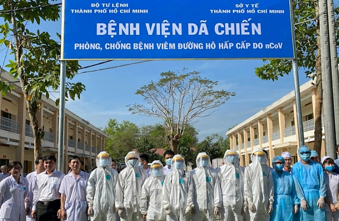 Ho Chi Minh city's field hospital against nCoV put into operation
