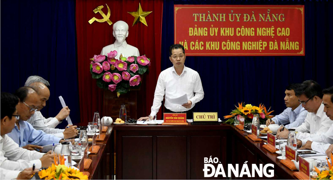Da Nang well prepares for Industrial Zone Party Congress