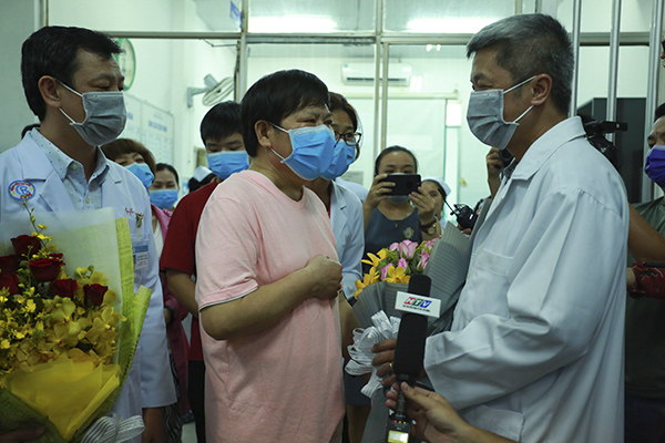 Another Covid-19 Chinese patient cured in HCMC