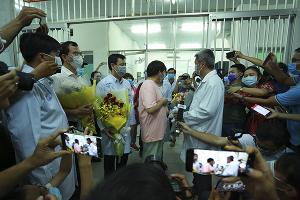 HCMC saves another Chinese Covid-19 patient