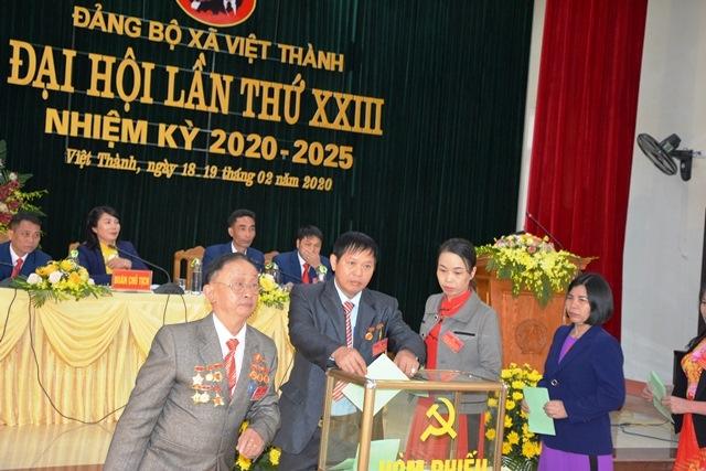Yen Bai's commune organises Party Congress